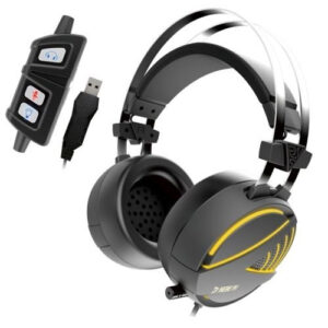 Gamdias HEBE M1 RGB Over The Head Gaming Headset With Mic